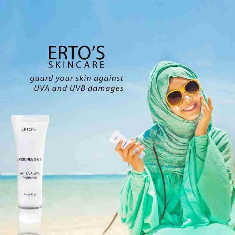 Cara Pemakaian Masker Jerawat Ertos Pembersih Wajah Sunscreen Gel Adalah Terbaru Dari Yang Bermanfaat Untuk Menlindungi Kulit Kamu Sinar Uva Uvb Bagian